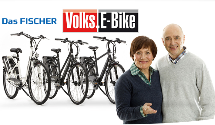 Werbung E-Bike Fischer Rosi Mittermaier Christian Neureuther
